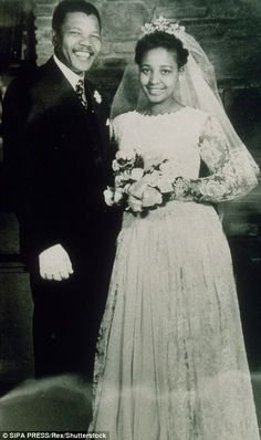 One of the most famous couples in African history, the pair were married in February of Contrary to popular belief, Winnie was not Nelson Mandela's first wife, nor would she be his las