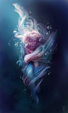Underwater by *NImportant on deviantART