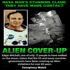 Astronaut Claims Governments Covered Up Alien Contact