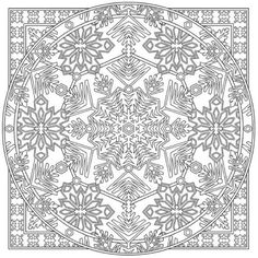 Winter Mandala Coloring Pages. 30 Winter Mandala Coloring Pages. Mandala Coloring Pages for Kids Winter Holiday Coloring Mandala Coloring Pages, Coloring Book Pages, Printable Coloring Pages, Coloring Pages For Kids, Coloring Sheets, Creative Haven Coloring Books, Dover Publications, Christmas Coloring Pages, To Color
