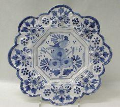 Plate | British, Brislington ca. 1670–80 Tin-enameled earthenware The Met