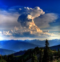 Hurricane Ridge, WA  Clouds Over Hurricane Ridge by Jared Chang