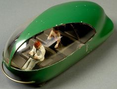 Norman Bel Geddes - Futurama car (c1939)