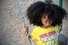 Trouble mixed & biracial hair by Amanda Walker My Hairstyle, Girl Hairstyles, Big Hair, Your Hair, Curly Hair Styles, Natural Hair Styles, Biracial Hair, Natural Hairstyles For Kids, Natural Hair Inspiration