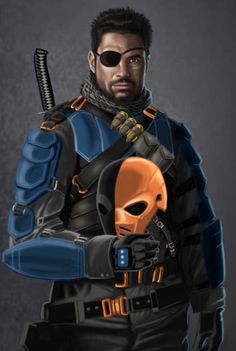 Manu Bennett as Deathstroke