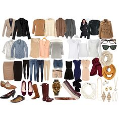 great ideas for a basic wardrobe....