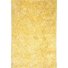 Found it at Wayfair - Cozy Yellow Area Rug