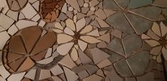 Detail of Mosaic project Mosaic Projects, Table Lamp, Wine, Detail, Paper, Painting, Home Decor, Art, Art Background