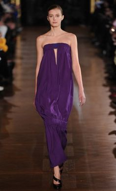 Purple: Stella McCartney AW14 at Paris Fashion Week