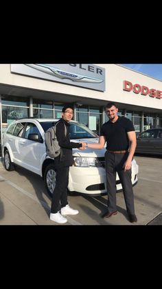 Zhuo Zhao Yang was looking for a crossover that best fits his lifestyle. After speaking with Sales Consultant Cameron Carlotta he chose this handsome 2018 Dodge Journey SE. Congratulations Zhuo and thank you very much for coming in to see us! www.zimmermotors.com/staff #SalesConsultant