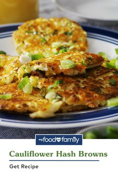 This Cauliflower Hash Browns recipe will have you hollering for cauliflower! Add this crispy Healthy Living dish to your breakfast spread with grated cauliflower florets, egg whites, and KRAFT Shredded Sharp Cheddar Cheese. It's easy to make and gets the day started right!
