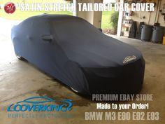 Coverking Satin Stretch Indoor Custom Tailored Car Cover for BMW M3 E90 E92 E93…