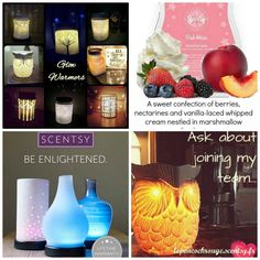 Scentsy Warmers & Gorgeous fragrances wax If you love candles, you will love Scentsy Warmers. No smoke, No soot & No flame * Ask me about joining my team * Ask me about the products I sell  * Ask me about the opportunities Scentsy could give you. Pop over to my page and have a look www.facebook.com/lepeacockrouge.scentsy Or PM me for our FREE information pack on becoming a scentsy consultant