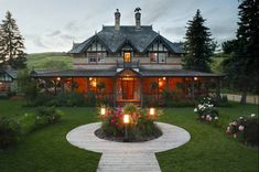 The Ranche Restaurant - historic and cozy! In beautiful Fish Creek Park in Calgary Alberta.