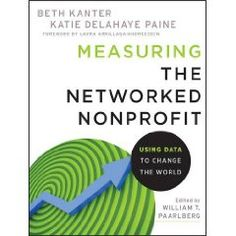 Just learned about Beth Kanter's new book, Measuring the Networked Nonprofit: Using Data to Change the World. It will be published in October. I plan to share it as a resource for my 13 sites.