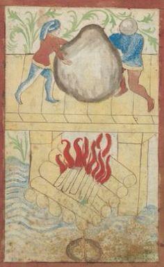 Kriegstechnik (Bilderhandschrift) Oberrhein · um 1420-1440 Ms. Rh. hist. 33b  Folio 114v