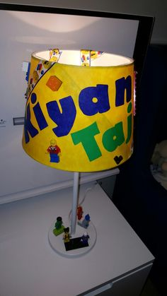 Personalised lamps personalised lamps pinterest aloadofball Image collections