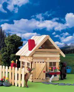 4 homemade stick house