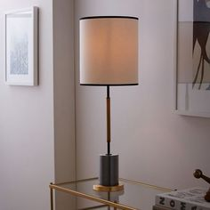 $199  west elm + Rejuvenation Cylinder Table Lamp - Tall | west elm