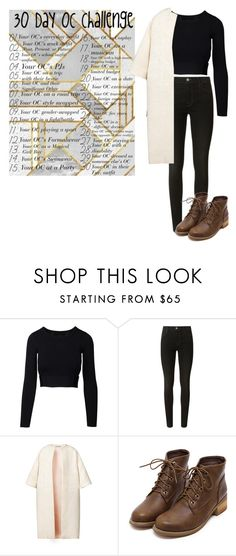 """""""BUMBLE AGE 21"""" by roryandlogan4 ❤ liked on Polyvore featuring J Brand and Esme Vie"""