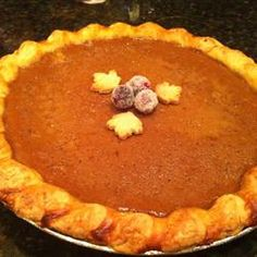 Pumpkin Maple Pie Supreme | Excellent Pie. It was very creamy with a sweet flavor.