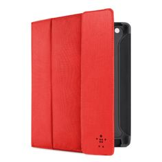 Belkin Storage Folio Case / Cover with Stand for the New Apple iPad with Retina Display (4th Generation) & iPad 3 (Red) #belkin #belkincomponents