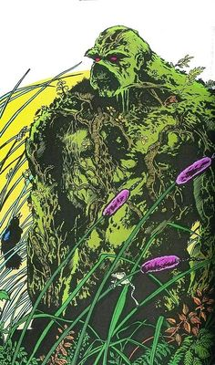 Swamp Thing: Comics Art Swamp Things Book Art Things Alex Comics ...