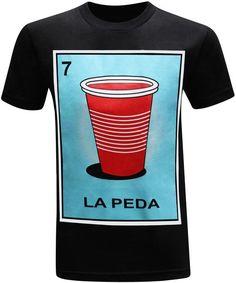 674efe84 La Peda Mexican Latino 3d T Shirts, Funny Tshirts, Printed Shirts, Mexican  Shirts