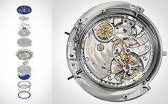 Patek Philippe Sky Moon Tourbillon Ref. 6002 Mechanism