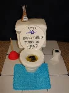 Funny Birthday cake 40th crap you are old cake toilet poo HILARIOUS