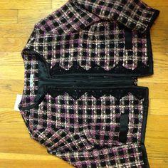 Boucle Cropped Jacket