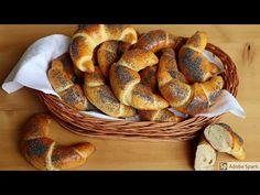 Makové loupáky. Loupáčky. - YouTube Bagel, Sausage, French Toast, Anna, Bread, Breakfast, Youtube, Food, Morning Coffee