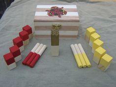 Miniature Kubb Sets - Viking Game on Etsy, $29.09