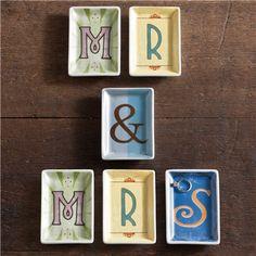 Rosanna Alphabet Studio Trinket Tray