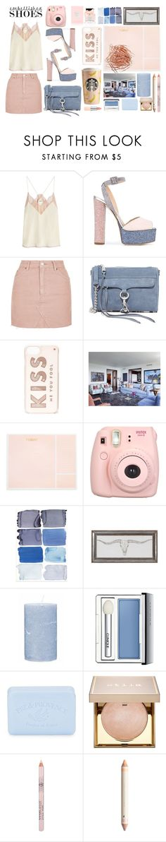 """""""at weekend"""" by ztugceuslu ❤ liked on Polyvore featuring Zadig & Voltaire, Giuseppe Zanotti, Topshop, Rebecca Minkoff, Kate Spade, Sugar Paper, Fujifilm, Broste Copenhagen, Clinique and Pré de Provence"""
