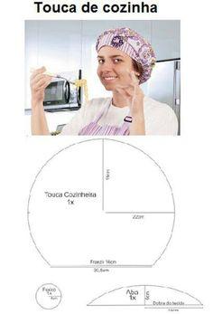 Touca cozinheira