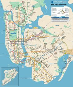 Best New York Images On Pinterest New York City Travel Cards - Map of nyc attractions printable