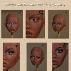 face painting tutorial part5 by fairiesndreams.deviantart.com