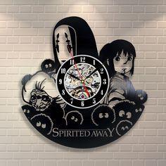Spirited Away Vinyl Record Wall Clock