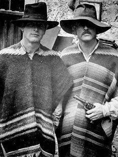 Paul Newman & Robert Redford as Butch Cassidy & The Sundance Kid