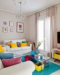 Beatiful Blue, Green And Taupe Living Room | My Own Place Decoration Ideas  | Pinterest | Cor, Salas De Estar E Cores De Destaque Part 82