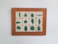 Tablou cu motive vegetale: frunze #2 | Corina Marina Ceramics Agate, Agates
