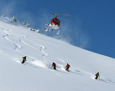 Introduction of Heli skiing in added a new dimension to the adventure tourism of Kashmir. The valley is the second most popular destination for heli Helicopter Skiing, Dangerous Sports, Snow Skiing, Cycling Art, Travel Activities, World Of Sports, Extreme Sports, Winter Sports, Snowboarding