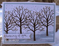 Artistic Embellishments: Wintery Sheltering Tree