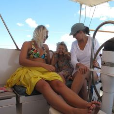 My Story Series // Living the dream is only a dream come true if you share it with the people that you love... Justin Maya and I always loved when family would make the journey around the world to visit us!!  #mystory #islandsmiles #cheekymonkey #sailinglife