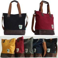 Canvas Tote Bags for Men Messenger Bags for School Shoulder Bags CHANCHAN 2008