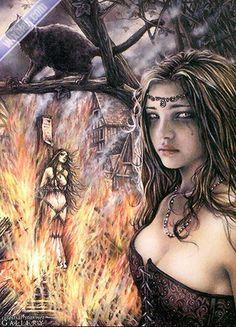 sorcière de Victoria Frances