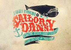 Caligrafía, diseño e Ilustración de DANILO MANCINI Aka Sailor Danny.