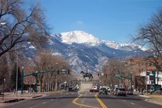 Pikes Peak, Colorado Springs - we drove to the top.  (I was blessed to have lived in CS for 2 1/2 years.)