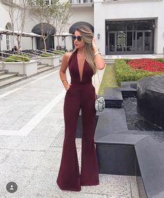 Evening Outfits, Night Outfits, Classy Outfits, Casual Outfits, Cute Outfits, Fashion Illustration Dresses, Girl Fashion, Fashion Outfits, Jumpsuit Outfit